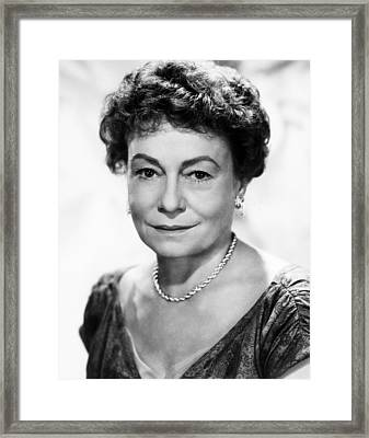 Lucy Gallant, Thelma Ritter, 1955 Framed Print