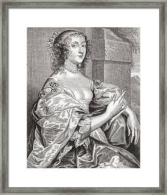 Lucy Hay, Née Percy, Countess Of Carlisle, 1599 –1660.  English Courtier. After The Portrait Framed Print by Bridgeman Images