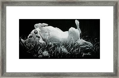 Lucy Framed Print