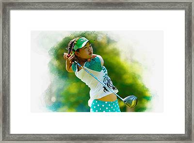 Lucy Li Of The United States Framed Print by Don Kuing
