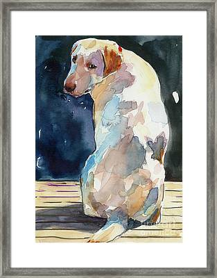 Lucy Moon Framed Print by Molly Poole
