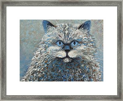 Lucy Framed Print by Ned Shuchter