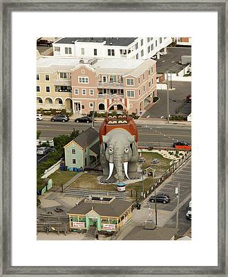 Lucy The Elephant Framed Print