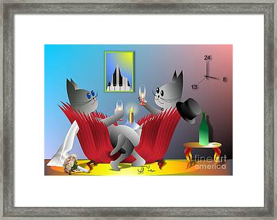 Lucy's Great Day Framed Print