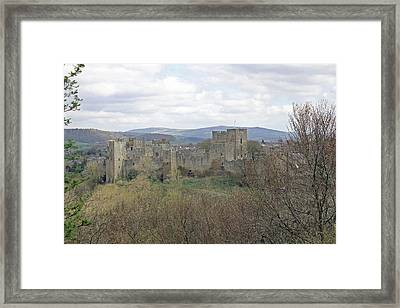 Ludlow Castle Framed Print by Tony Murtagh