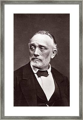 Ludwig Buchner Framed Print