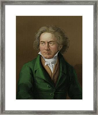 Ludwig Van Beethoven Framed Print