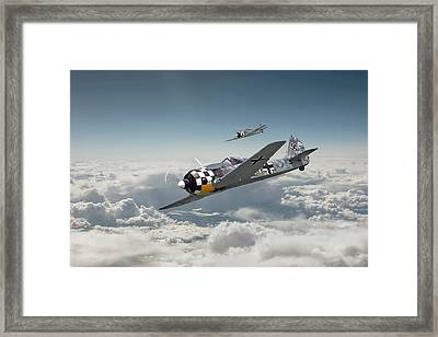 Luftwaffe - Fw190 Framed Print by Pat Speirs