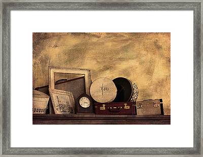 Luggage And Memories Framed Print