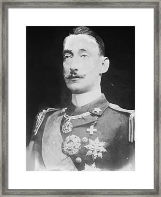 Luigi Amedeo Of Savoy (1873-1933) Framed Print