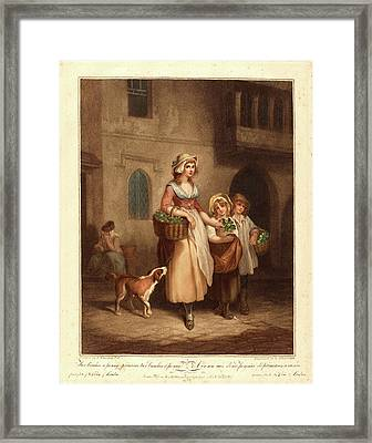 Luigi Schiavonetti After Francis Wheatley Framed Print by Litz Collection