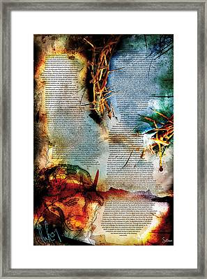 Luke 1 Framed Print by Switchvues Design