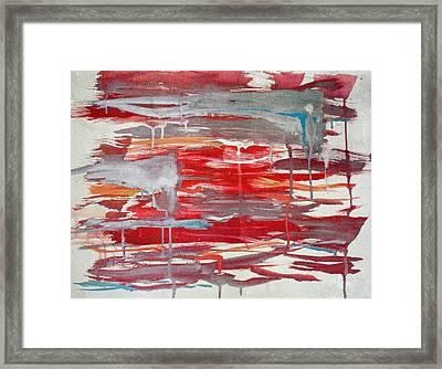 Lukisan Framed Print