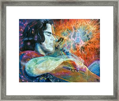 Lullabies For Nebulas Framed Print by Kd Neeley