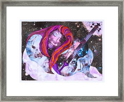 Lullaby In Space Framed Print by Lisa Moses
