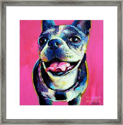 Framed Print featuring the painting Lulu by Robert Phelps