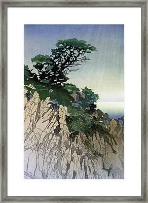 Lum Point Lobos, C1920 Framed Print