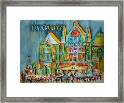 Lumenocity  Framed Print