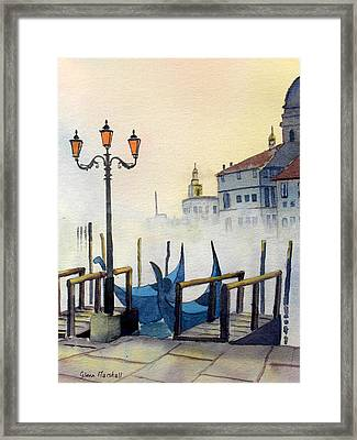 Lumi Di Candelbro Framed Print
