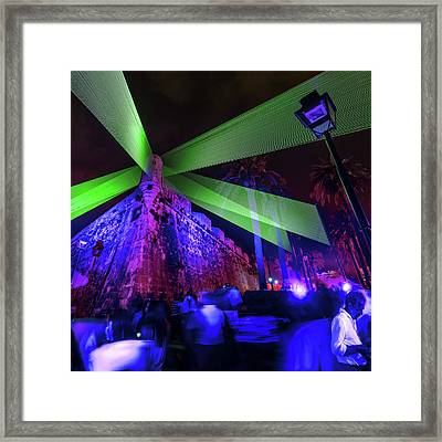 Lumina Light Festival Framed Print by Babak Tafreshi