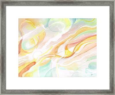 Luminance Framed Print