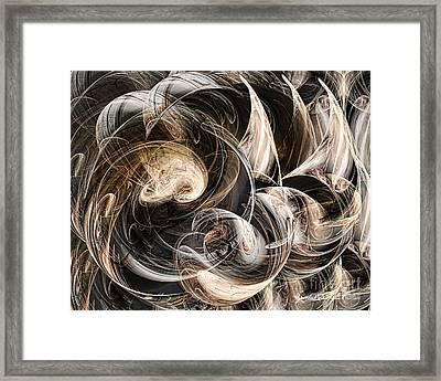 Luminance In The Dark Framed Print by Leona Arsenault