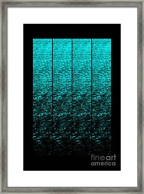 Framed Print featuring the photograph Luminescence 1a by Darla Wood