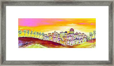 Luminescence Framed Print by Loredana Messina
