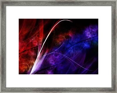 Luminosity Framed Print by Cameron Rose