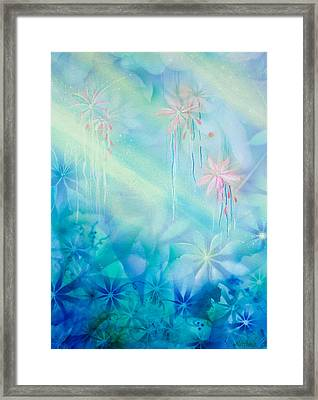 Luminous Garden Framed Print by Michelle Wiarda