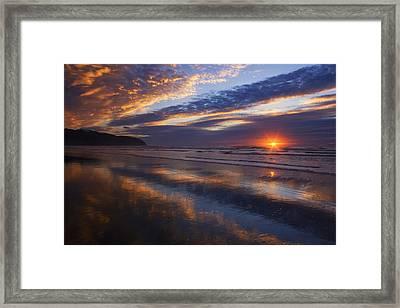 Luminous Harmony Framed Print