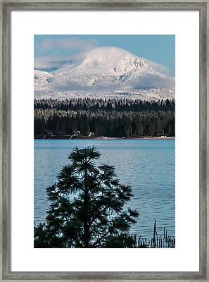 Luminous Lassen Framed Print by Jan Davies