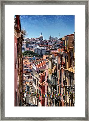 Luminous Lisbon Framed Print by Carol Japp