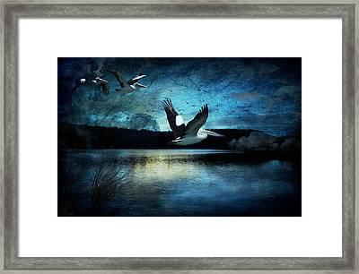 Luminous Moonlight Framed Print