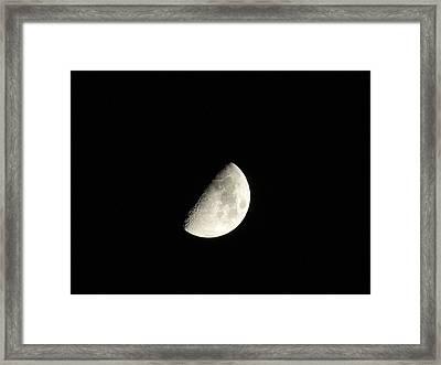 Luminous Sphere Framed Print by Eric Noa