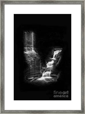 Luminous Waters Iv Framed Print by Michele Steffey