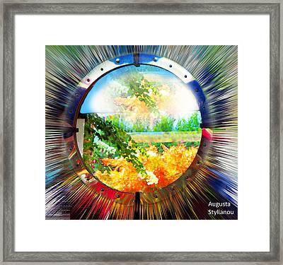 Luminously Landscape Framed Print by Augusta Stylianou