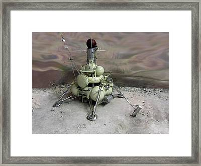 Luna 16 Lunar Space Probe Framed Print