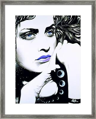 Luna Framed Print by Alicia Hayes