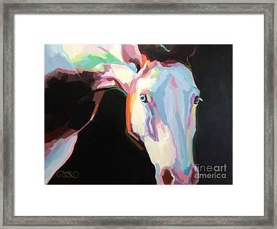 Luna Iv Framed Print by Kimberly Santini