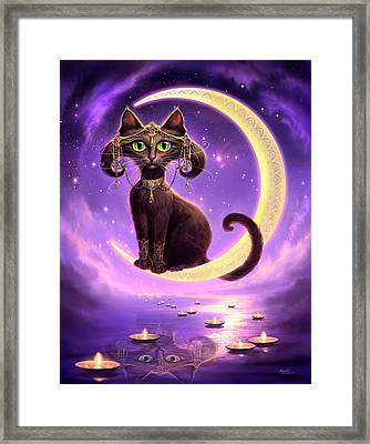 Luna Framed Print by Jeff Haynie