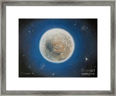 Luna Framed Print by Katharina Filus