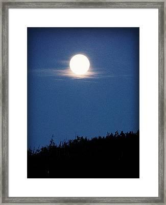 Luna Llena Framed Print
