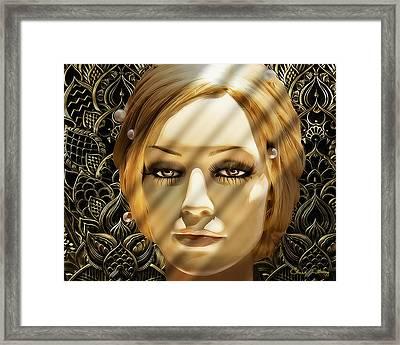 Luna Loves Art Deco Framed Print
