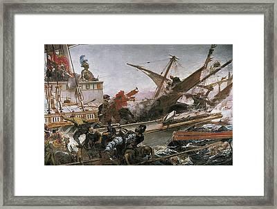 Luna Y Novicio, Juan 1857-1899. Naval Framed Print by Everett