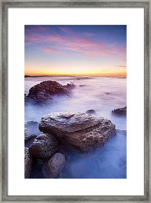 Lunada Mist Framed Print