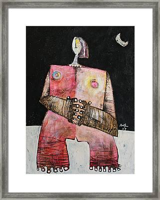 Lunam No. 3  Framed Print by Mark M  Mellon