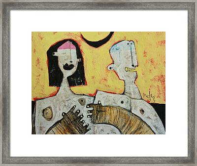 Lunam No. 5 Framed Print by Mark M  Mellon