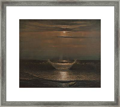 Lunar Apparition Framed Print by Blue Sky