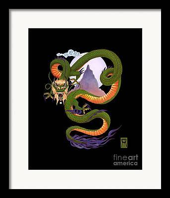 Fantasy Artwork Framed Prints